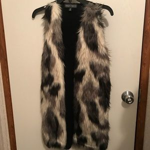 Fur Vest Size Medium